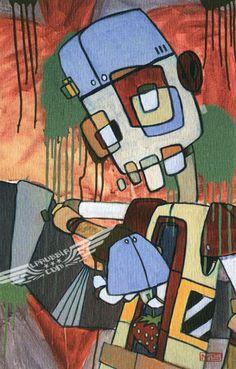 Strawberries (2006) Mike Shinoda, Linkin Park, Street Art Graffiti, Texture Art, Various Artists, Sleeve Designs, Graphic Art, Spiderman, Art Work