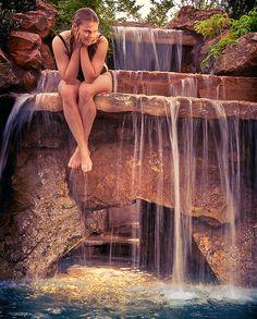 Luxury Homes, Luxury Pools, Luxury Spas, Custom built pools and spas Outdoor Spa, Outdoor Showers, Outside Pool, Lagoon Pool, Pool Waterfall, Luxury Pools, Outdoor Restaurant, Custom Pools, Beautiful Pools