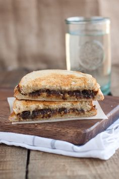French Onion Grilled Cheese Sandwich by @Jessica Dasilva
