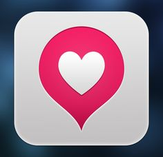 App icon concept for user's most loved and visited places.