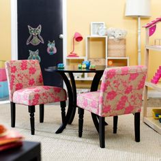 Find it at the Foundary - Playtime Parsons Chair - Set of 2