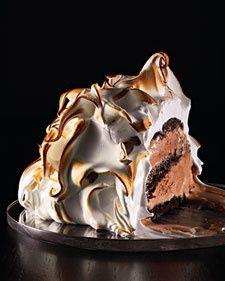 baked alaska #chocolates #chocolaterecipes #sweet #delicious #yummy #food #choco #chocolate