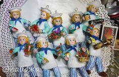 Привет!Всем всем! Хочу сразу поздравить всех мужчин с праздником!! и пожелать счастья ,здоровья и исполнения всех желаний!! А я с очередным отрядом Поварят. Для друзей в СМ делала МК по игрушке здесь(http://stranamasterov.ru/node/1079489). Сегодня я покажу как им делала детальки. Рюмочки , вазочки и  фрукты-ягодки... фото 1