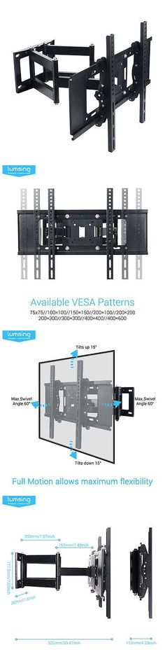 TV Mounts And Brackets: Full Motion Tv Wall Mount 32 39 40 42 50 55