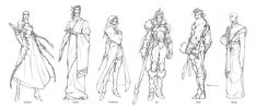 Exalted Line Up - Exalted RPG