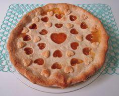 "kawaiiful: ""peachy heart pie (by artgoodieshome) "" Cute Food, Yummy Food, Jai Faim, Think Food, Cute Desserts, Aesthetic Food, Summer Aesthetic, Cravings, Sweet Tooth"