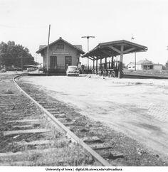 Shenandoah Iowa rr depot