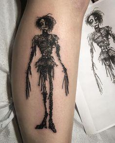 Tim Burton tattoo by Pat Crump
