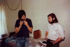 Steve Jobs and Steve Wozniak in 1975