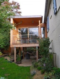 Room Extension On Stilts Google Search House House On Stilts