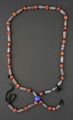 Adornment Outside and In – Estetisk kraft Africa Necklace, African Trade Beads, Ethiopia, African Art, Beaded Necklace, Necklaces, Glass Beads, Chevron, Jewels