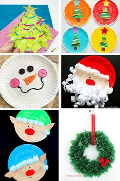 Arty Crafty Kids   Christmas   18 Fabulous Paper Plate Christmas Crafts for Kids!