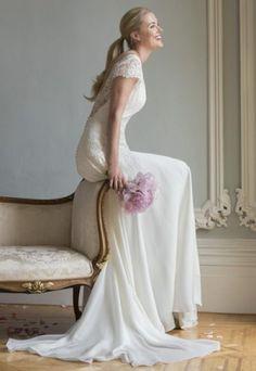 Sheath Wedding Dress by Augusta Jones - Image 1