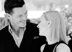 "fysarahgadon: ""He's such a brilliant actor, I really enjoyed working with him. He's so humble and lovely, and hardworking, and I find so inspiring to be around him. - Sarah Gadon about Luke Evans...."
