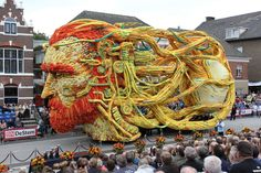 Van Gogh parade, Netherlands.