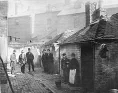 homas St circa 1882 soon to be demolished for the cutting of Corporation Street