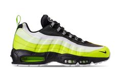 65dbeef27f0 The Nike Air Max 95 Premium Volt Glow (Style Code  comes dressed in a  Volt Black-Volt Glow-Barely Volt colorway with a release date set for Nov.