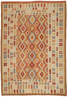 Kilim Afgán Old style szőnyeg ABCO457