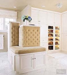 Update your drab wardrobe into an exciting space you want to spend time in. With minimalistic, flashy, glamorous, tidy, spacious, vintage and luxurious closet ideas, you're certain to find a space that's the right fit for your home. Home makeovers were never so easy.