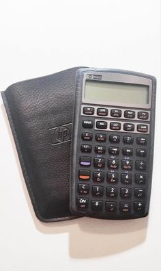 HP 10BII Financial Calculator with Case Excellent Working Condition | eBay
