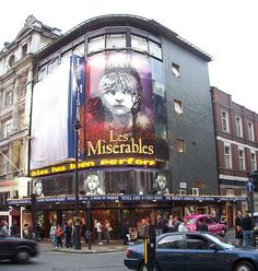 Ben and I saw Les Mis here at The Queen's Theatre! Truly an amazing experience! Fav!