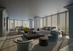 Interior Design by Fendi Casa - Dubai Marina