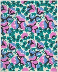 Design by Paul Poiret  #fashion  #textiles