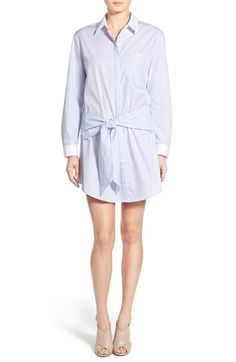 Trouvé Stripe Shirtdress available at #Nordstrom