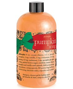 philosophy pumpkin icing shower gel - Skin Care - Beauty - Macy's