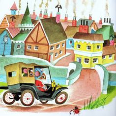 Richard Scarry- the Town Mouse & the Country Mouse