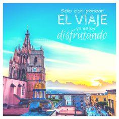 """""""Sólo con planear el viaje ya estoy disfrutando"""" #frase #inspiracion #viajar #frases #viajes #viajera"""