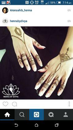 Henna by Divya - simple henna hand designs