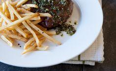 Epicure's Paris Bistro Steak Epicure Recipes, Wine Recipes, Beef Recipes, Cooking Recipes, Healthy Recipes, Cooking Ideas, Recipies, Paris Bistro, Menu