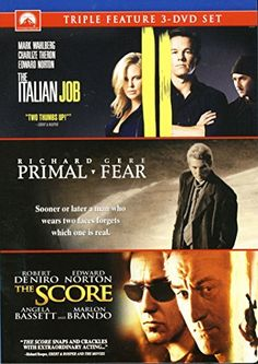 The Italian Job / Primal Fear / The Score (Triple Feature)   #FreedomOfArt  Join us, SUBMIT your Arts and start your Arts Store   https://playthemove.com/SignUp