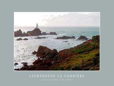 'Lighthouse La Corbière' von Dirk h. Wendt bei artflakes.com als Poster oder Kunstdruck $19.41