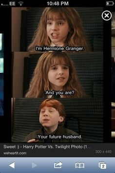 Ron sorry but I ship Dramione!