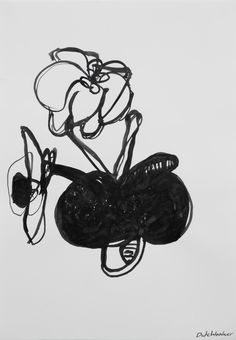 (Flora) The creation of flowers (II) 3d Design, Minnie Mouse, Disney Characters, Fictional Characters, Flora, Ink, Drawings, Plants, Sketches