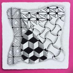 Zentangle by CZT Nancy Domnauer