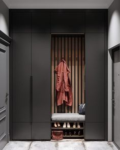 Decoration: Intense neoclassical interior with cobalt and emerald color accents … – House interior decor ideas – Halss Hall Wardrobe, Wardrobe Door Designs, Wardrobe Design Bedroom, Design Hall, Flur Design, Shoe Cabinet Design, Cupboard Design, Design Kitchen, Neoclassical Interior