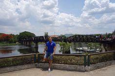 Kanchanaburi, Bridge over the river Kwai, Thailand