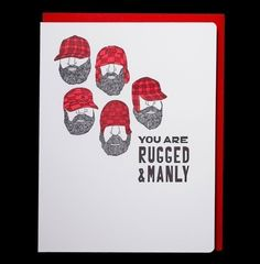 manly card