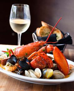 Chef Chris Evangelides of Reel Club at Oakbrook Mall in Oakbrook, Illinois shared this Lobster Cioppino