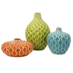 I pinned this 3 Piece Agatha Vase Set from the Sun Room event at Joss and Main!