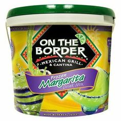 I'm learning all about On The Border Frozen Margarita Drink Mix 96 oz at @Influenster!