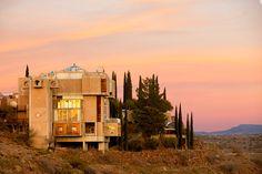 Paolo Soleri - Arcosanti, Arizona, anni '70