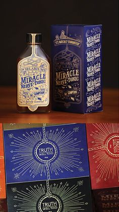 A vintage-styled packaging created specifically for an advertising agencys party. It was designed by Sean Mitchell Regan Fraser and Mark Lovely for the kick-off of MacLaren McCanns annual wild west Stampede Party. Vintage Packaging, Coffee Packaging, Beverage Packaging, Bottle Packaging, Pretty Packaging, Brand Packaging, Design Packaging, Product Packaging, Bottle Design