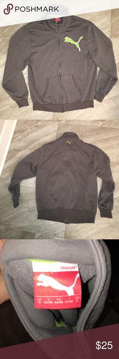 PUMA PUMA  full zip sweat shirt. Good condition! men's Small Puma Shirts Sweatshirts & Hoodies