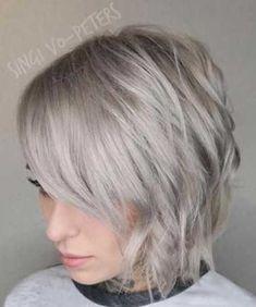 Ash Blonde Short Haircuts