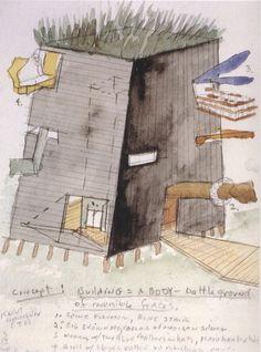 Steven Holl Architects  The Knut Hamsun Center