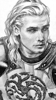 Rhaegar Targaryen by CVogia.deviantart.com on @DeviantArt